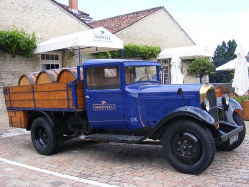 Image of Martell vintage lorry - Cognac - Poitou Charentes