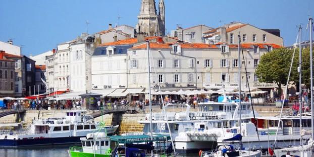 Image of harbour - La Rochelle - Poitou Charentes