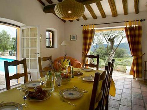 Image of Villa Charmante - dining area - Provence