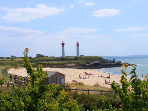 Image of beach - Ile de Re - near La Rochelle - Poitou Charentes