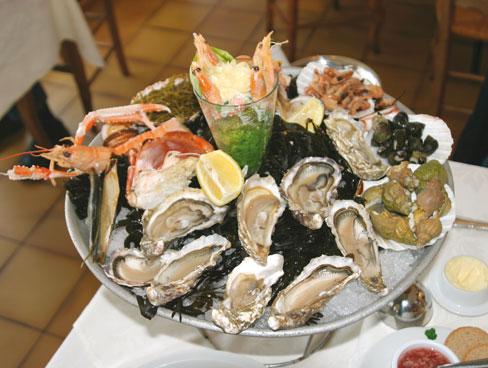 Delicious seafood - Normandy