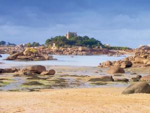 Ploumanac'h Pink Granite Coast Brittany