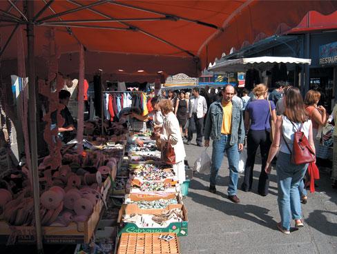 St Brieuc market Brittany