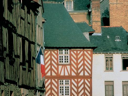 Rennes' old quarter