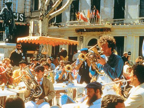 Festival day in Arles