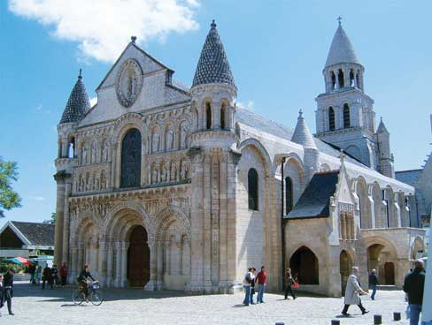 The cathedral at Poitiers Poitou Charentes