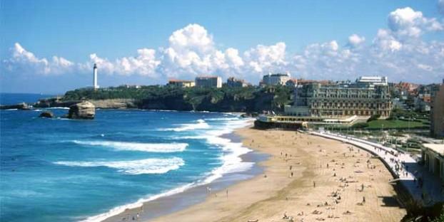 Biarritz beach Aquitaine