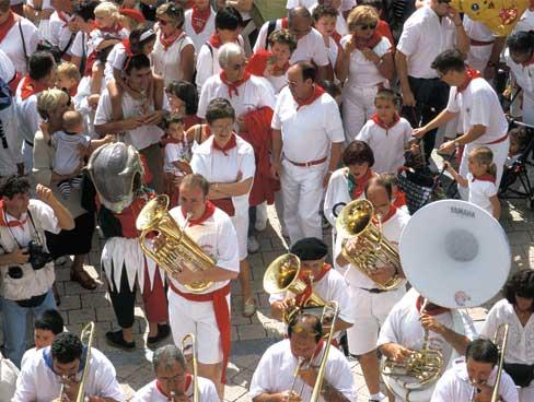 Fiesta time Bayonne Aquitaine