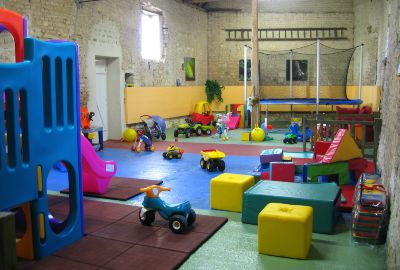 Gite with toddler's play area