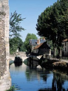 River Eure, Chartres, Normandy