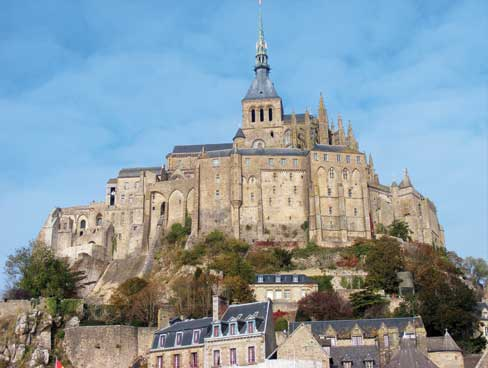 The Abbey at Mont St Michel