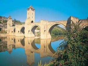 Pont Valentre, Cahors in the Lot Valley, France