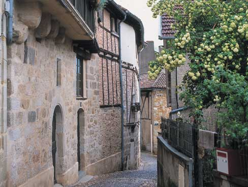 Figeac in the Lot Valley France