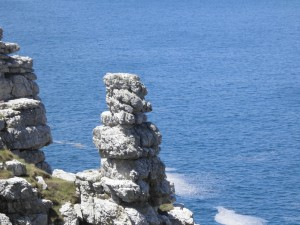 The cliffs at Crozon in Brittany