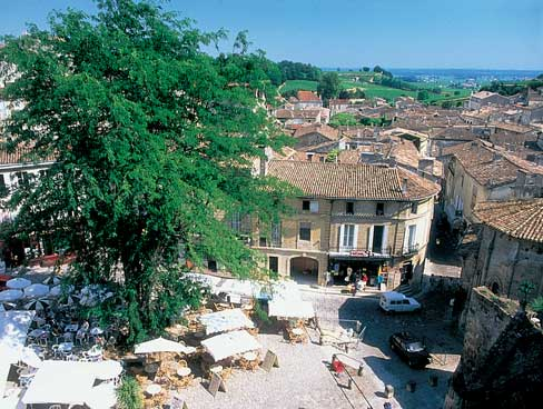St Emilion renowned for its fine wines