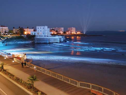 Seafront promenade at Pontaillac Royan