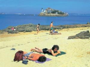 Carantec beach, Brittany