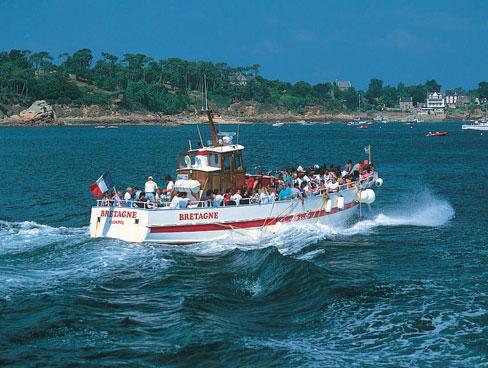 Boat trip Brittany