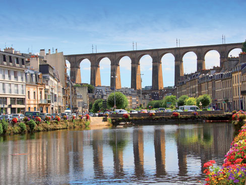 Viaduct Morlaix Brittany