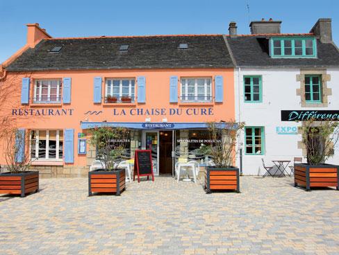 Restaurant Carantec Brittany