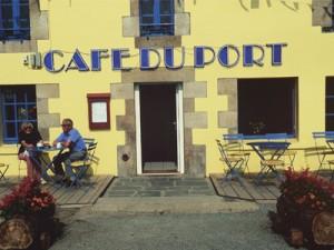 Cafe du Port, Le Dorduff, Brittany