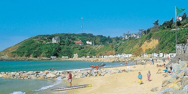 Barneville-Carteret beach Normandy