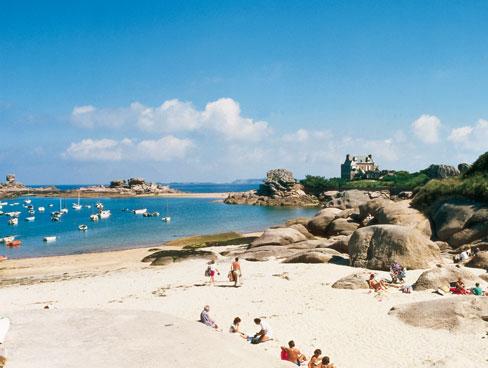 Tregastel Beach Brittany