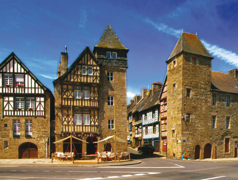 Treguier Brittany