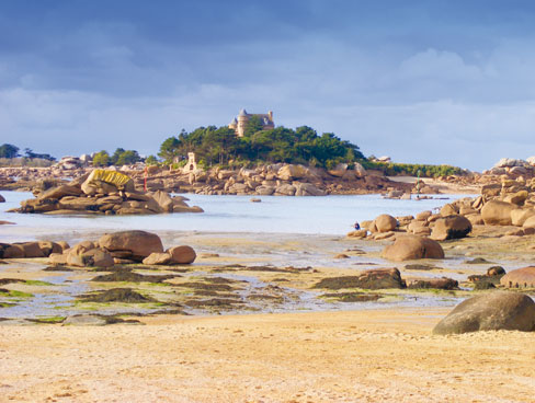Pink Granite Coast Brittany