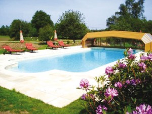 The Pool at Le Helleguy Brittany