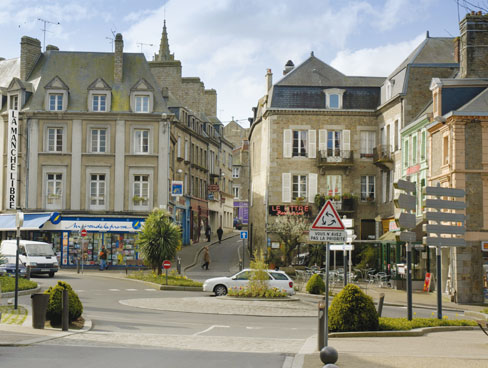 Avranches Normandy