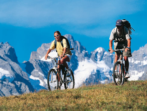 Cycling in the Rhone Alps