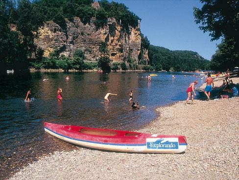 Canoeing in Aquitaine