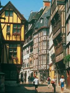 Ancient Rouen street