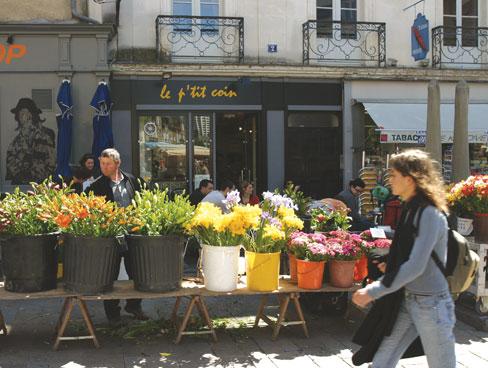 Flower market Rennes