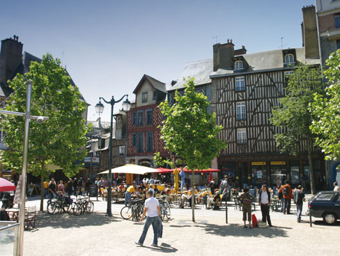 Market square Rennes