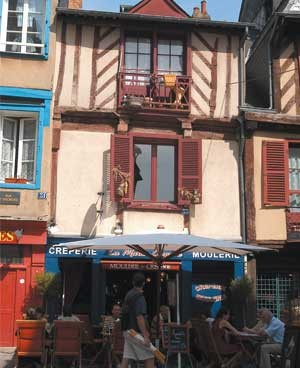 Half timbered houses Rennes