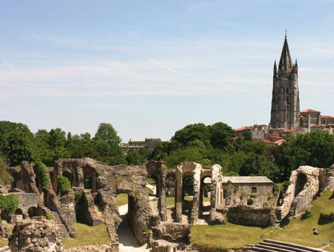 Roman amphitheatre Saintes