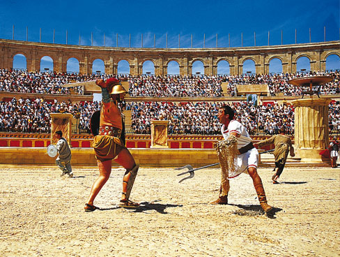 Gladiators at Puy du Fou