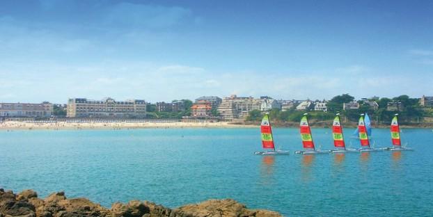 Beach sports in Brittany